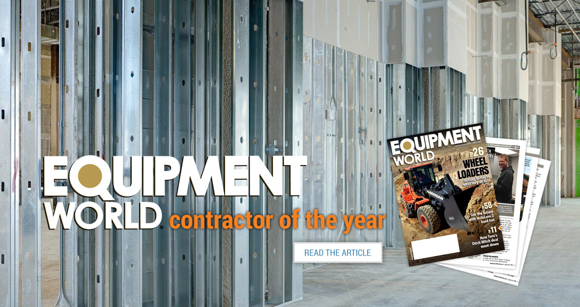 Reshetar Systems - Equipment World Contractor of the Year Finalist