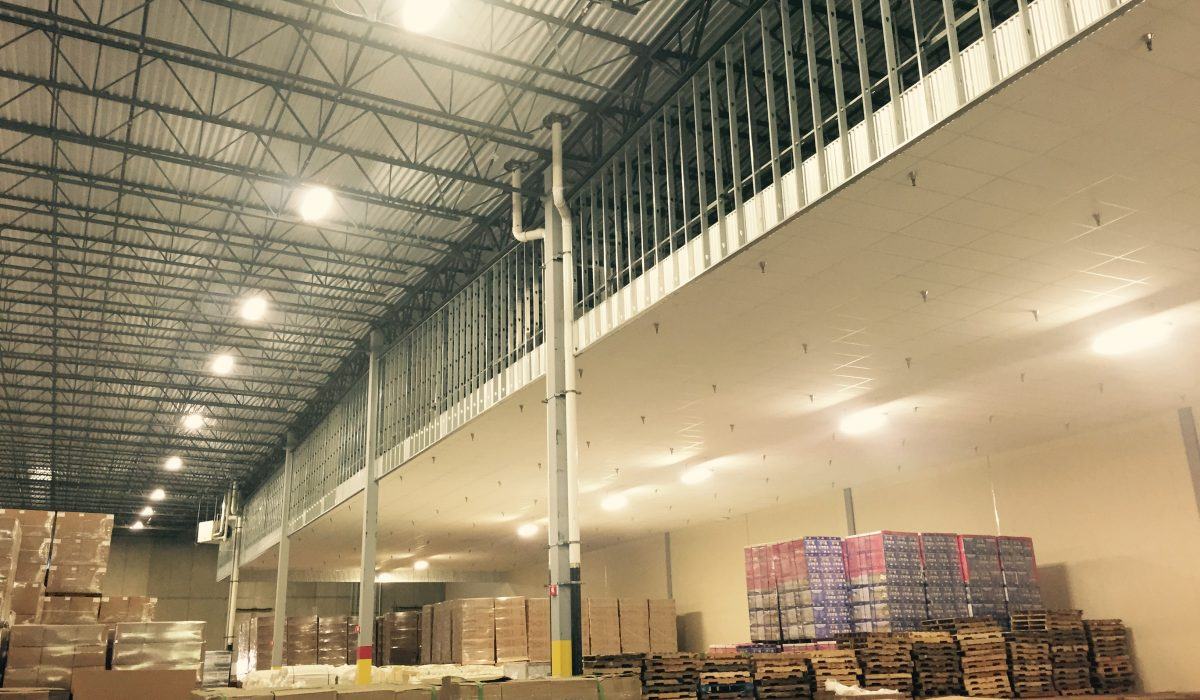 Warehouse Soffit Framing