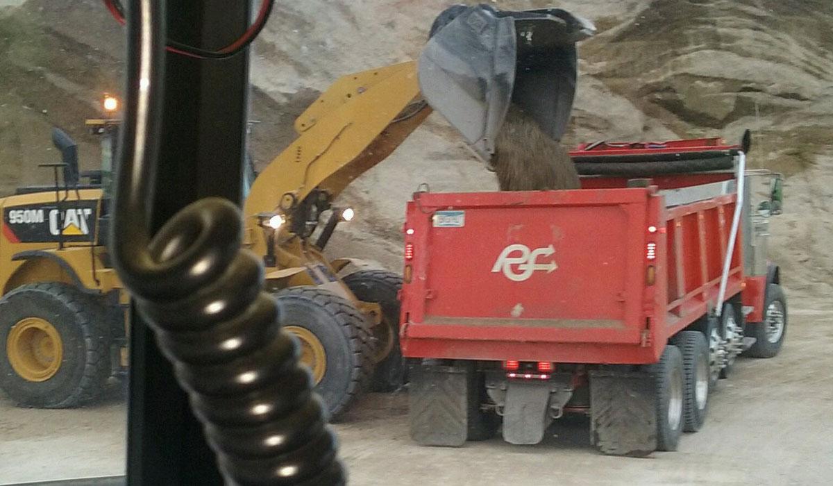 Reshetar Systems Dump Truck