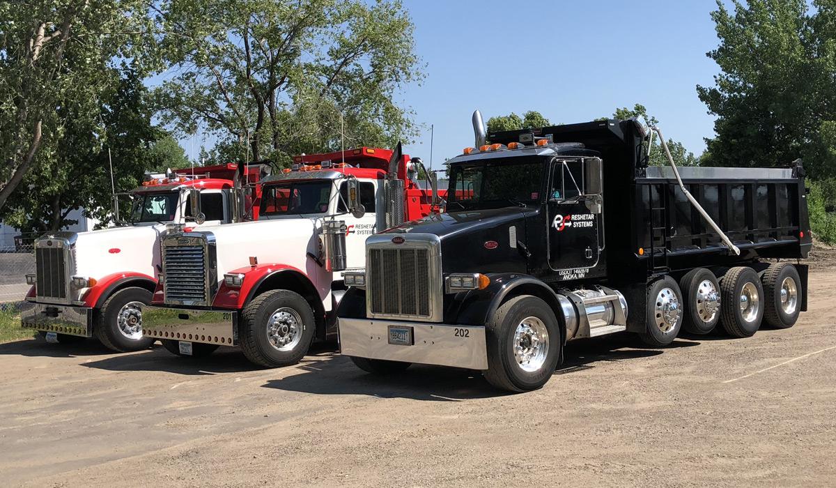 Reshetar Systems Dump Trucks